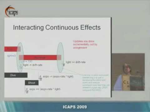 Planning with Continuous Change, Maria Fox, Invited Talk ICAPS 2009