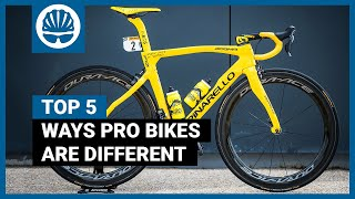 Top 5 | Weird Ways a Pro's Bike Is Different To Yours