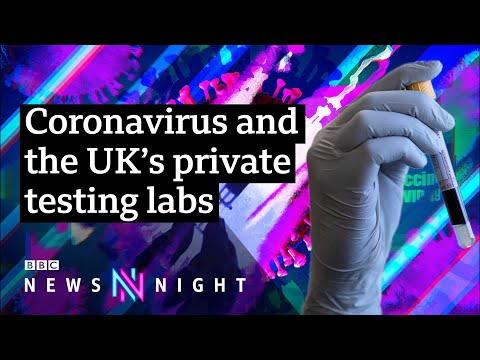 Coronavirus: Can the UK still reach 100,000 tests a day? - BBC Newsnight