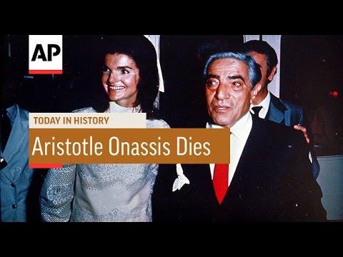 Aristotle Onassis Dies - 1975 | Today In History | 15 Mar 17