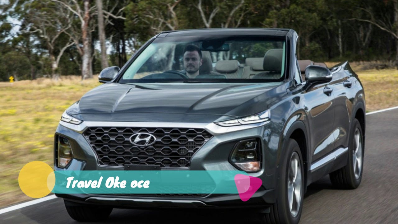 The Ceiling Is The Roof Hyundai Santa Fe Cabriolet Opens A