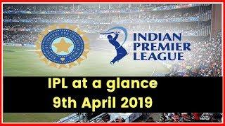 IPL 2019: Orange Cap & Purple Cap Updates | April 09, 2019