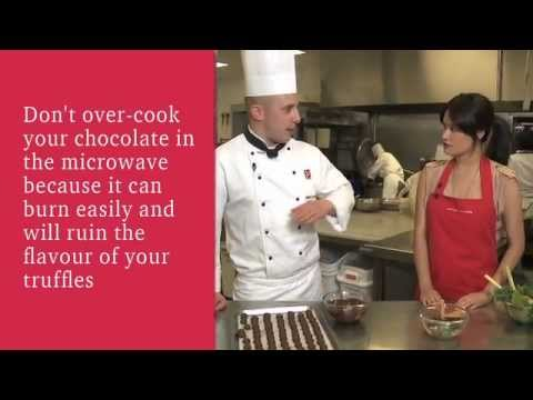 Cooking with EPICURE - Chocolate Truffles with Rosemary