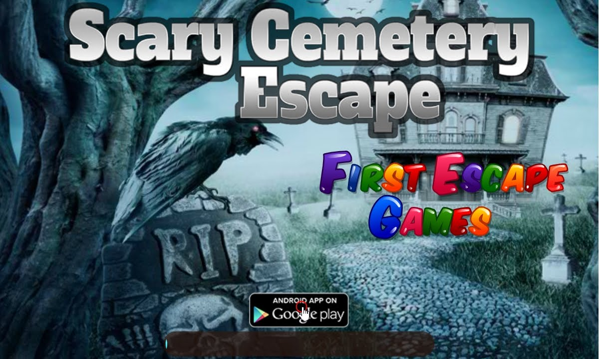 Scary Cemetery Escape Walkthrough Feg Youtube