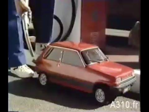 Publicité d'époque Renault 5 1979 - Rebelcar.FR