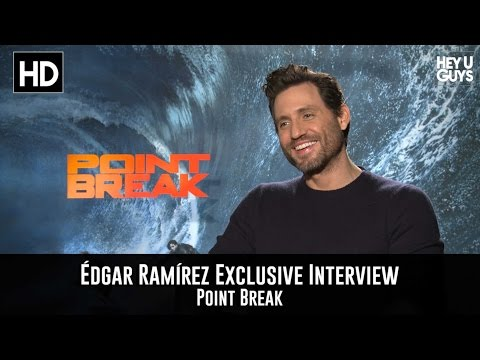 Édgar Ramírez Exclusive Interview - Point Break