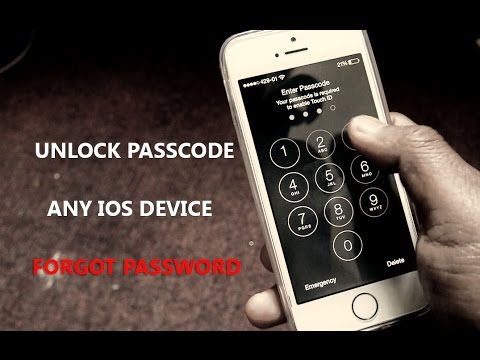 how to unlock iphone passcode how to unlock any iphone without passcode 2017 6966