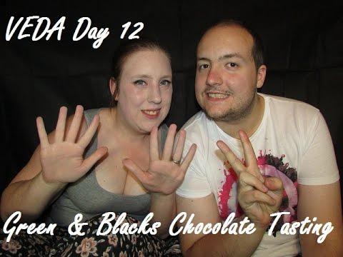VEDA Day 12 | Green & Blacks Chocolate Tasting