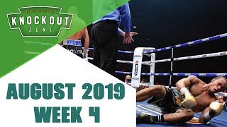 Boxing Knockouts | August 2019 Week 4