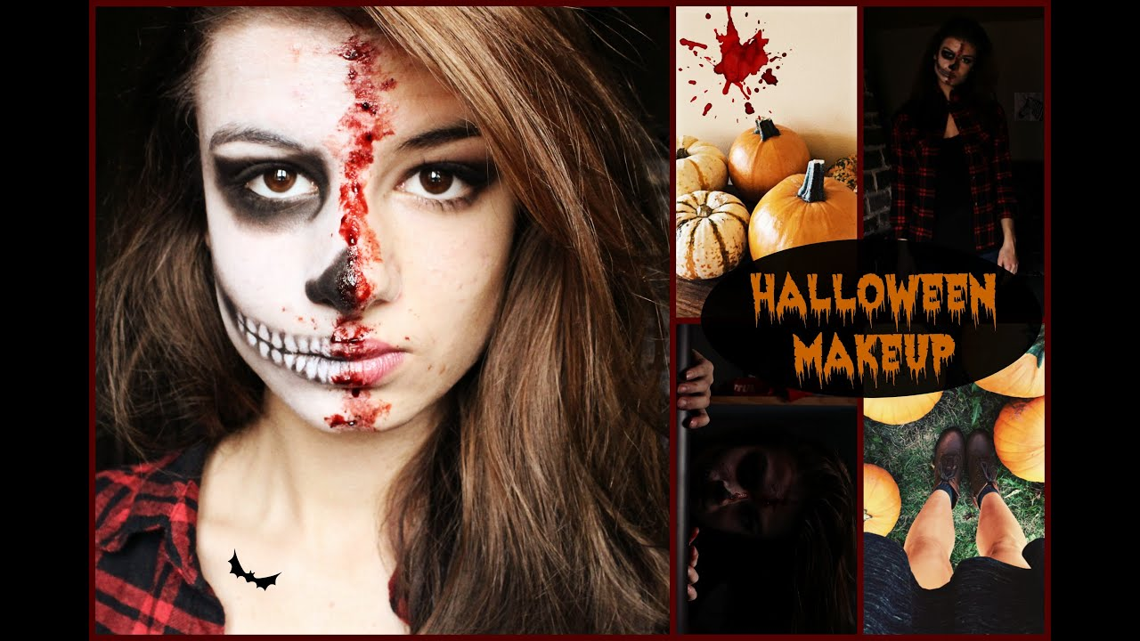 maquillage halloween youtube. Black Bedroom Furniture Sets. Home Design Ideas