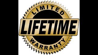LIFETIME WARRANTY MEANS NOTHING TO ME ANYMORE HERE'S WHY!!!