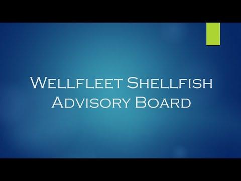 Shellfish Advisory Board, February 25, 2019