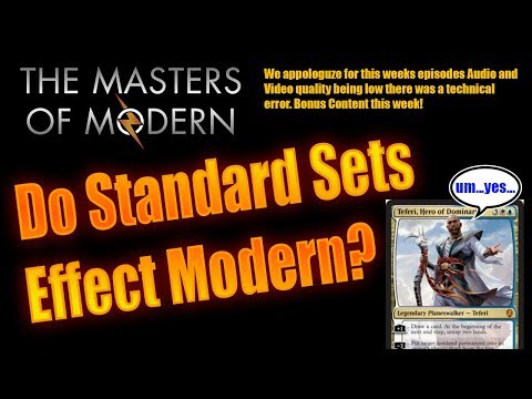 How much does a new set affect modern? (Bonus Ep)