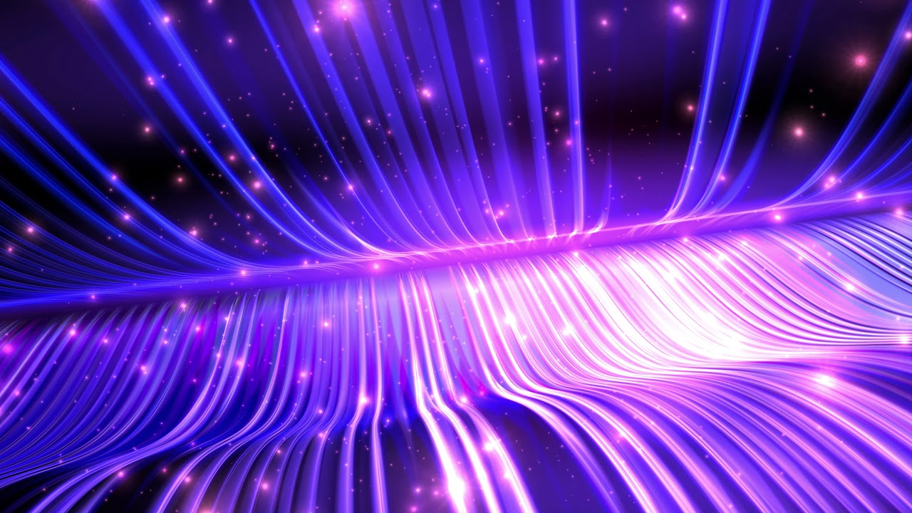 4K Deep PURPLE BLUE Plasma Waves ☯ Cool Moving Backgrounds #AAVFX - YouTube