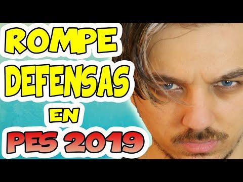 APRENDE CÓMO ROMPER UNA DEFENSA (TUTORIAL PES 2019 MYCLUB) | PS4