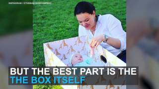 Why newborn babies in Finland sleep in boxes