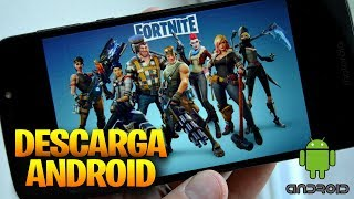 as a PRE - download FORTNITE for ANDROID * Fortnite for mobile devices *