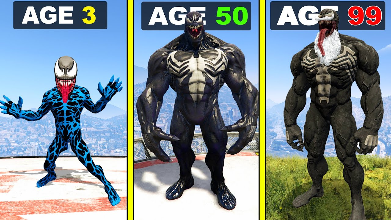Surviving 99 YEARS As VENOM in GTA 5