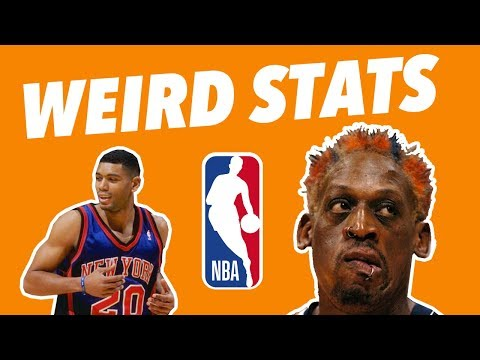 The ODDEST STATLINES in NBA HISTORY - WEIRD BASKETBALL Stats