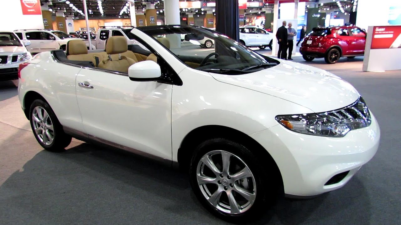 2013 Nissan Murano Crosscabriolet Exterior And Interior Walkaround 2013 Ny Auto Show Youtube