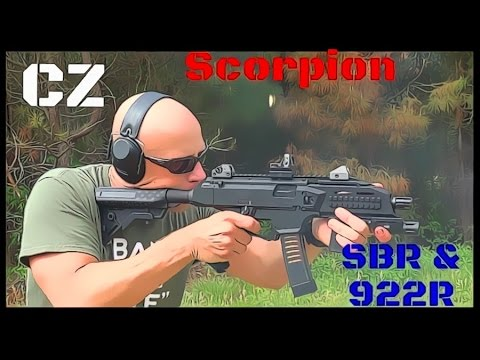 CZ Evo Scorpion 9mm SBR & 922R Update (HD)