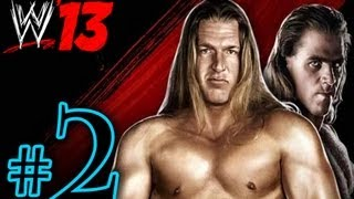 WWE 13 Attitude Era - DX Walkthrough Playthrough Part 2 HD