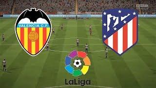 Valencia vs Atletico Madrid | La Liga 2018/19 | Matchweek 1 | Simulation