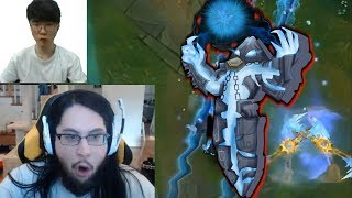 imaqtpie VS Scripting Xerath TILT | Faker Really Hides On Bush This Time | LoL Highlights