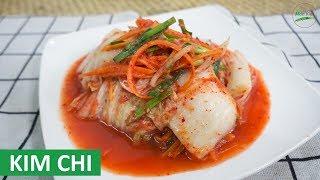 Cách làm Kim Chi Hàn Quốc ngon đúng hương vị   Món Việt Channel