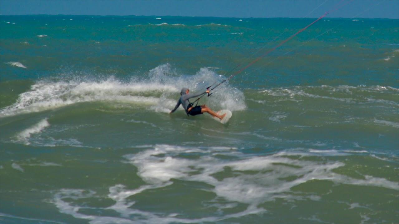 Cocoa Beach Kitesurfing Hurricane Jose