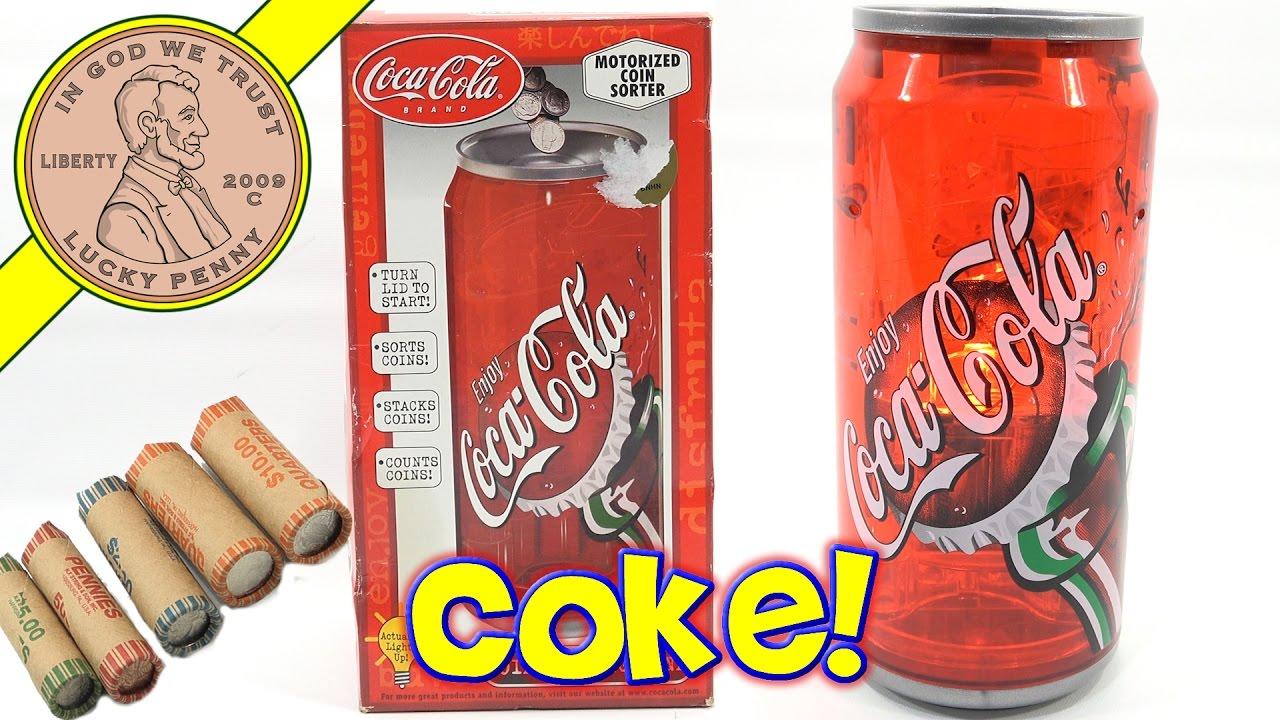 coca cola sorter