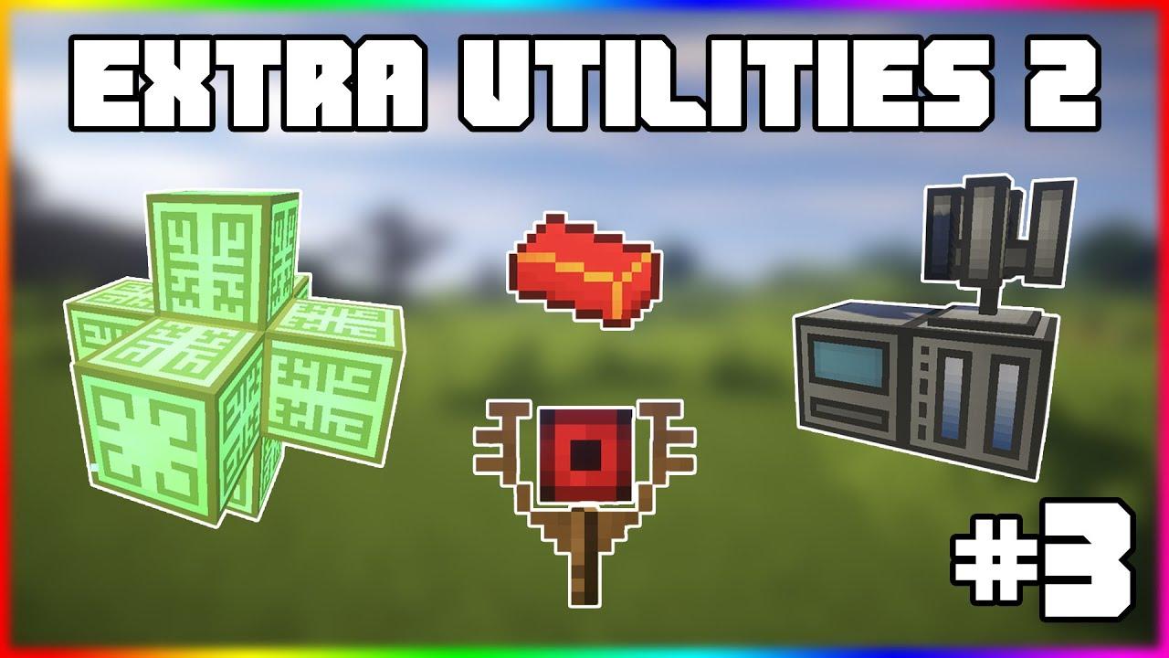 Гайд по Extra Utilities 2 1.12.2 #3 Квантовый карьер и терраформер
