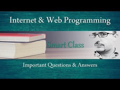 #78 Smart Class: Internet & Web Programming | MCQ | Q&A | PGDCA | BCA | MCA | HPSSSB | Zero2ninE