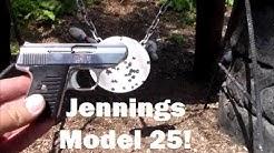 Jennings Model 25  (.25 Auto Pistol)