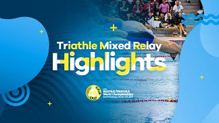 Highlights | UIPM 2019 Biathle-Triathle World Championships Florida USA - Triathle Mixed Relay