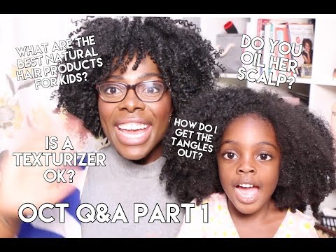 What Are The Best Natural Hair Products For Kids? | Oct QA Part 1