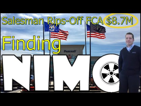 FINDING NIMO: MICHIGAN CAR SALESMAN RIPS OFF AUTOMAKER $8.7 MILLION! The Homework Guy, Kevin Hunter