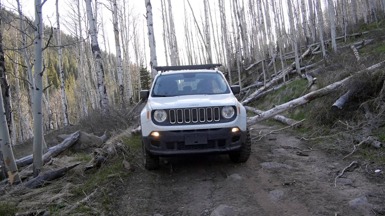 jeep renegade off road 4x4 1 4l manual near aspen co youtube. Black Bedroom Furniture Sets. Home Design Ideas