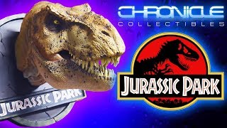 Jurassic Park™ Female T-Rex Bust   Chronicle Collectibles   1:5 Unboxing & Review