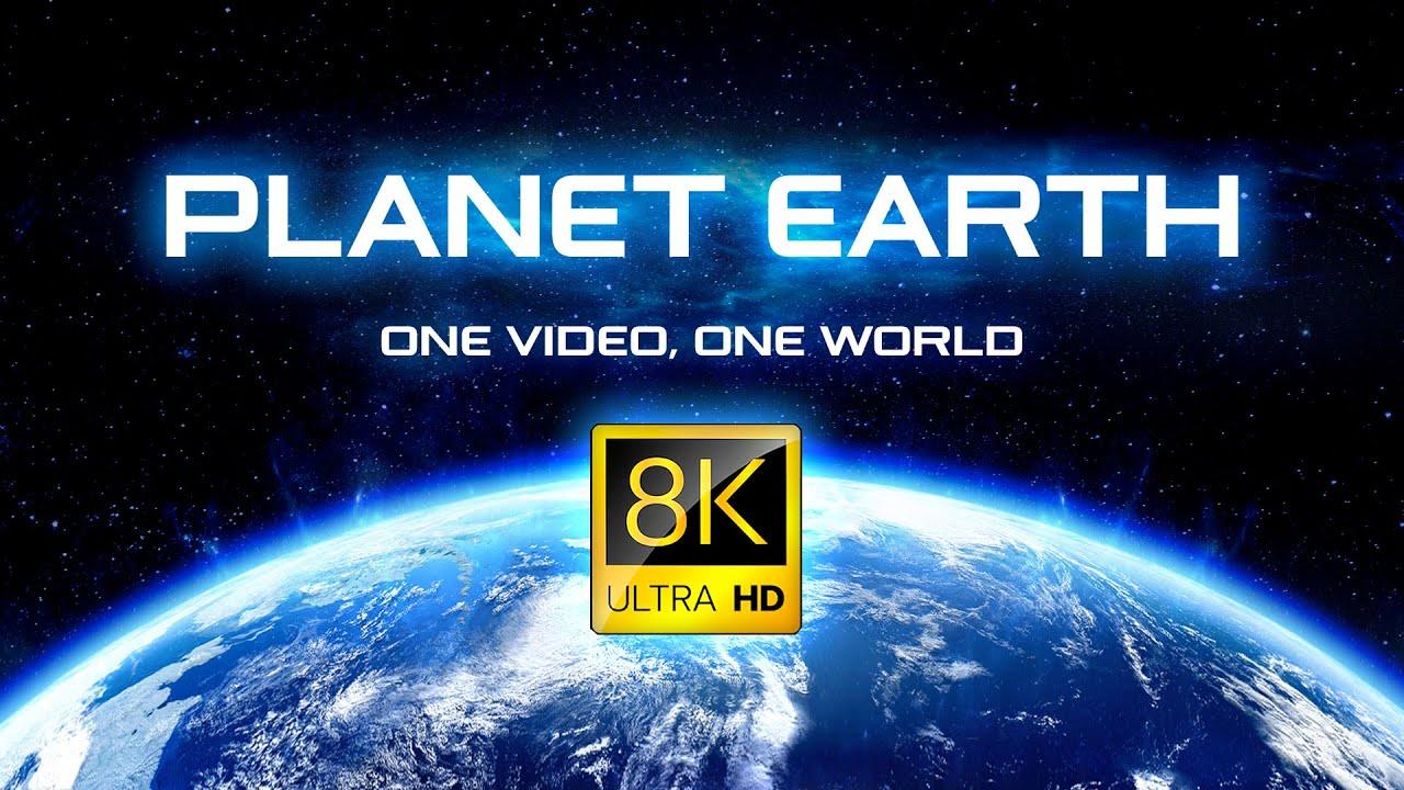 Download PLANET EARTH in 8K ULTRA HD