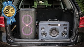 JBL Partybox 100 vs Aiwa Exos-9 - who is the king?