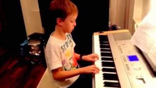 Танец маленьких лебедей (на фортепиано)