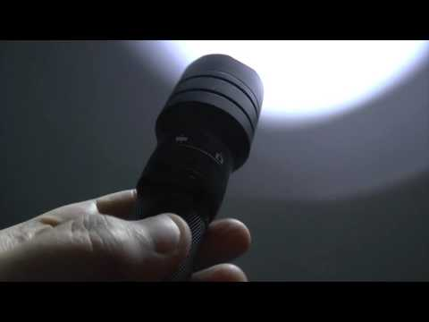AMO VF21 Flashlight Camera DVR Beamshot and Low Light Shooting Video