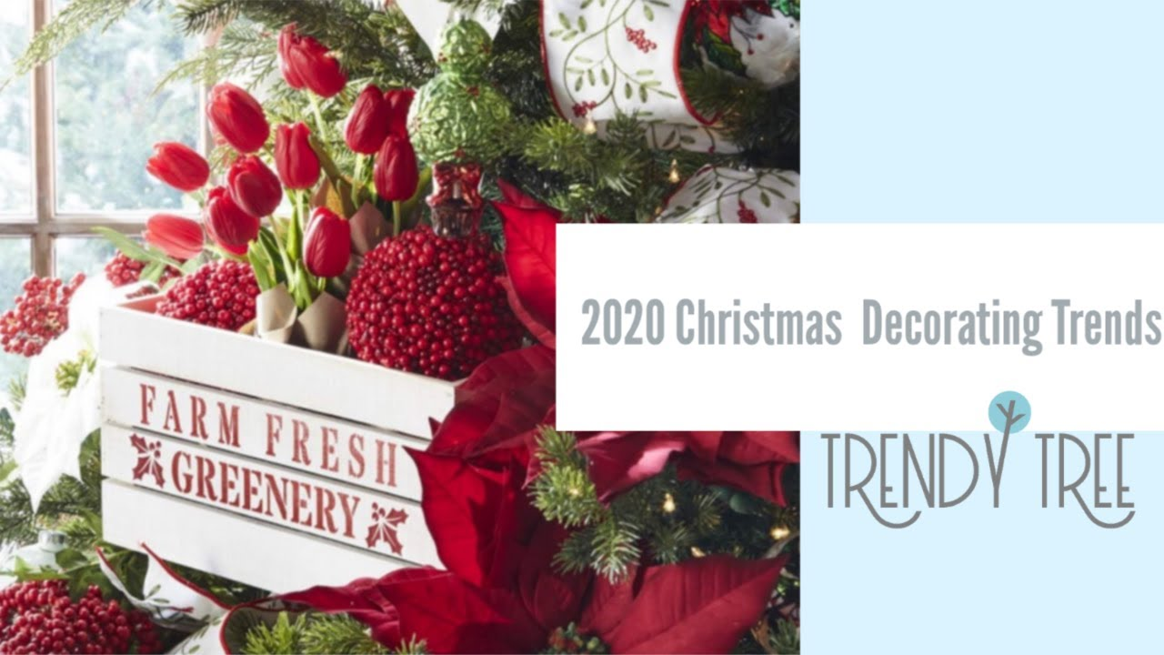 Christmas Decorations 2020 2020 Christmas Decorating Trends   YouTube