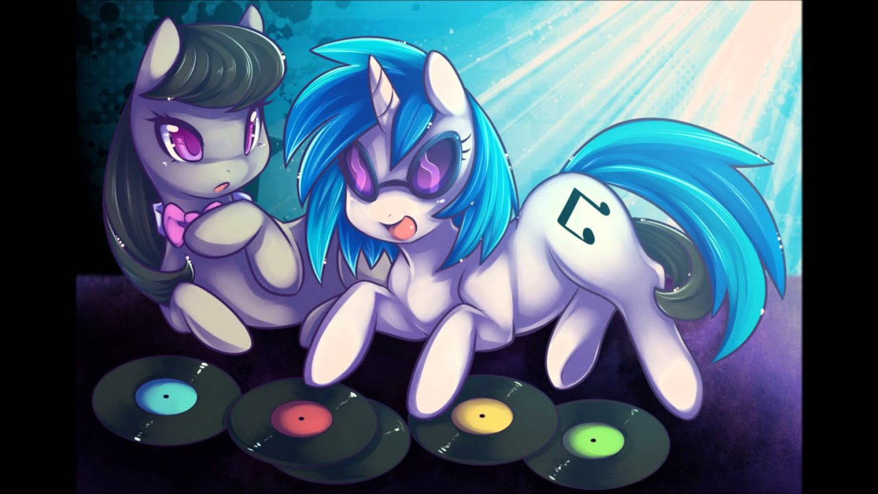 vinyl scratch x octavia melody everytime we touch youtube