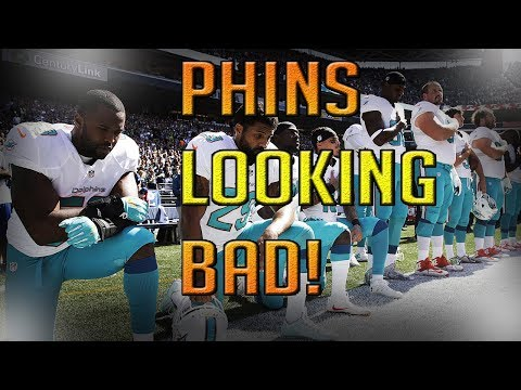 DOLPHINS WILL FINE AND SUSPEND PLAYERS FOR PROTESTING NATIONAL ANTHEM | MIAMI DOLPHINS FAN REACTION
