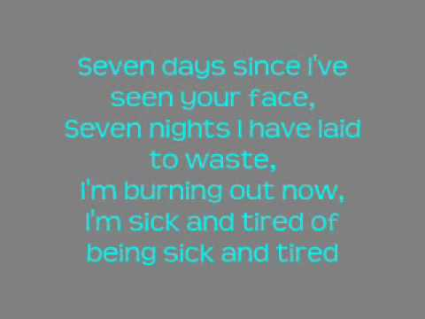 Candle (Sick And Tired)-The White Tie Affair [Lyrics On Screen]