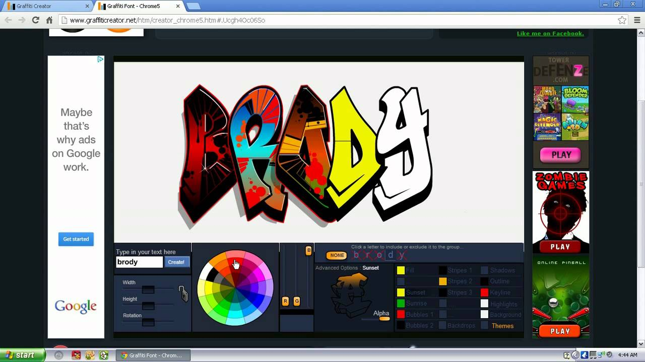 Graffiti Creator Youtube