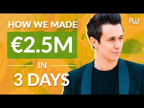 Cash on Delivery Case Study: How We Made €2.5M in 3 Months | Gianluigi Ballarani, AWeurope 2019