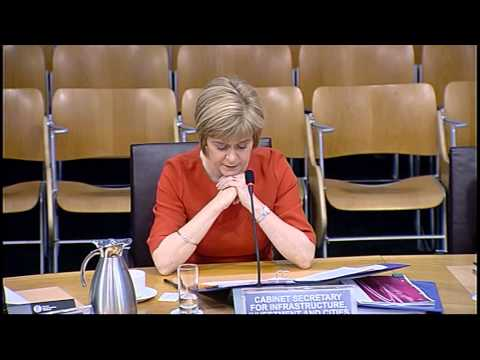 Infrastructure and Capital Investment Committee - Scottish Parliament: 12th November 2014